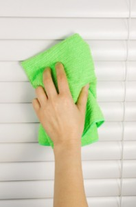 blinds cleaning